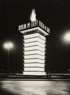 "Osramturm during ""Berlin im Licht"", 1928 (Source: Stiftung Stadtmuseum Berlin. Reproduktion: Michael Setzpfandt, Berlin)"